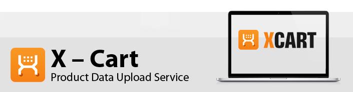 X – Cart Product Data Upload Service