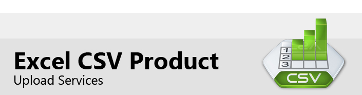 Excel CSV Product Upload Services